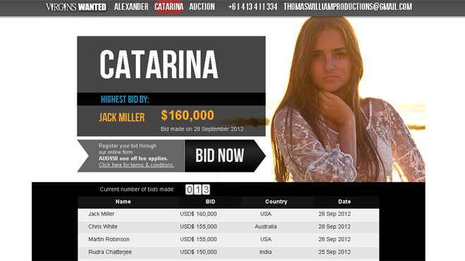 Brazilian Student Auctions Off Virginity for Charity | Fox News Latino