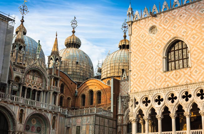 The Basilica of San Marco, St. Mark's Square, Venice, Italy